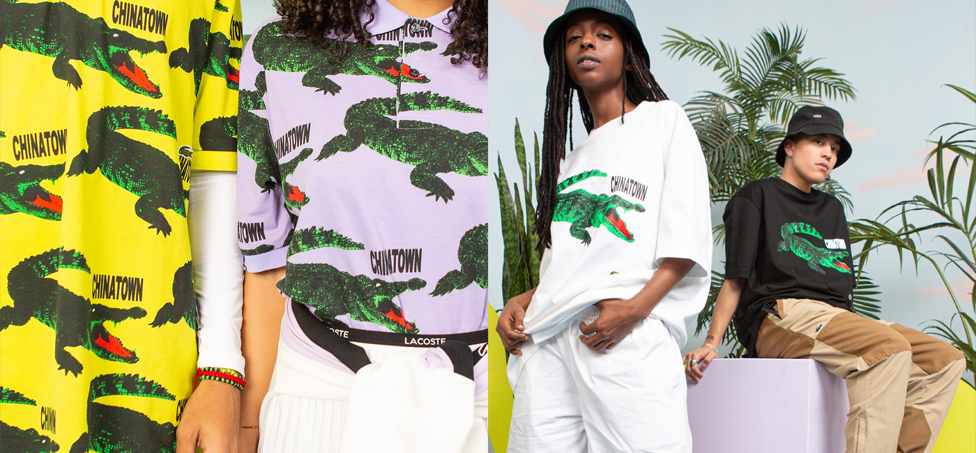 Buy online LACOSTE X CHINATOWN MARKET on Nigra Mercato - Worldwide shipping