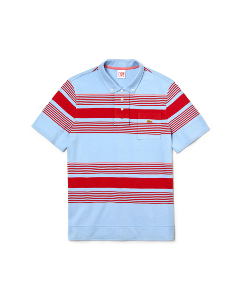LACOSTE REGULAR FIT POLO SHIRT X OPENING CEREMONY DH6210-00 8Y9