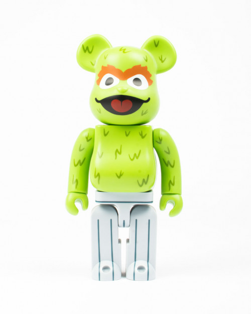 MEDICOM TOY BEARBRICK OSCAR THE GROUCH 400%