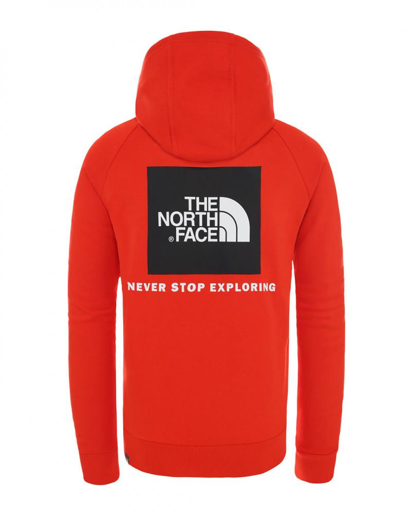 tnf fine raglan redbox hoodie NF0A2ZWU15Q1 1