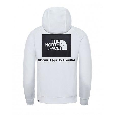 tnf fine raglan redbox hoodie NF0A2ZWUFN41