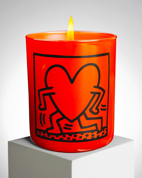 "KEITH HARING ""RED RUNNING..."