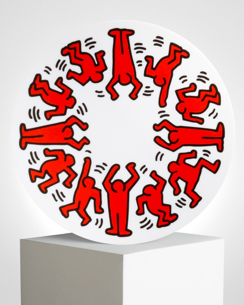 "KEITH HARING ""RED ON WHITE""..."