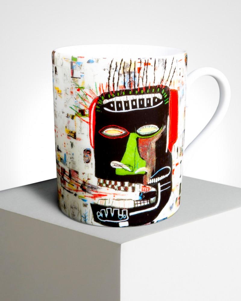 """LIGNE BLANCHE BASQUIAT porcelain mug """"Glenn"""" MUJMB08"""