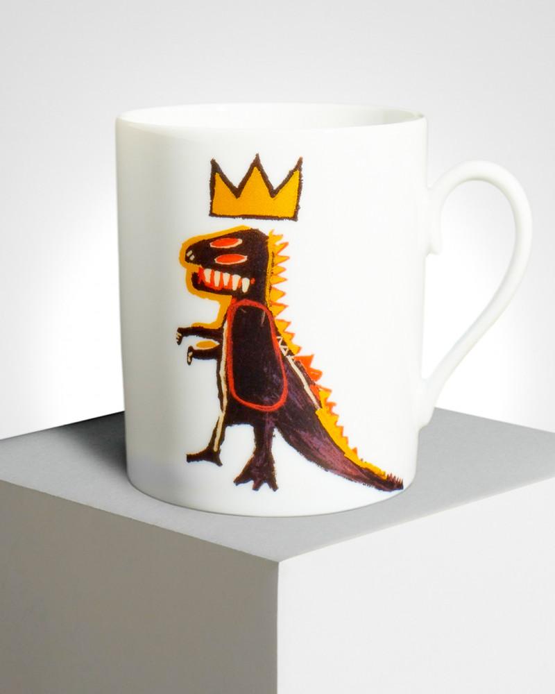 """LIGNE BLANCHE BASQUIAT porcelain mug """"Gold Dragon"""" MUJMB10 1"""