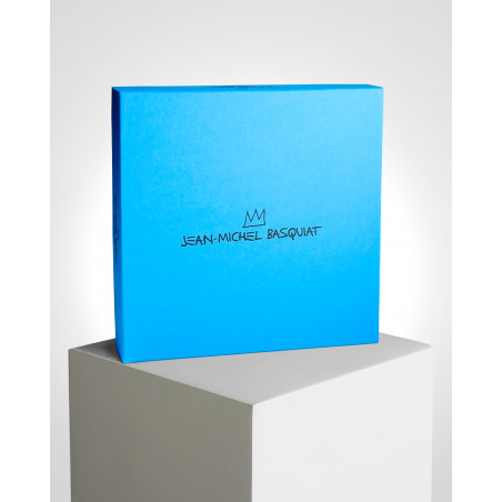 """LIGNE BLANCHE BASQUIAT Porcelain plate - """"Gold Dragon"""" CAJMB22"""