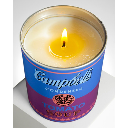 """LIGNE BLANCHE  Andy WARHOL """"Campbell"""" candle PCAW03"""