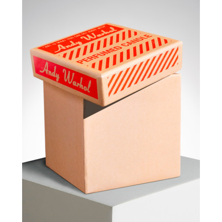 """LIGNE BLANCHE Andy WARHOL """"Brillo Box"""" square perfumed candle PCAW08"""