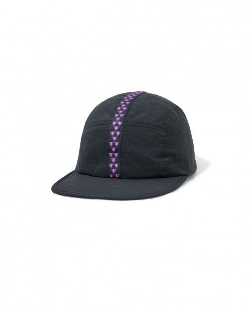 Butter Goods EQUIPMENT 6 PANEL CAP BLACK