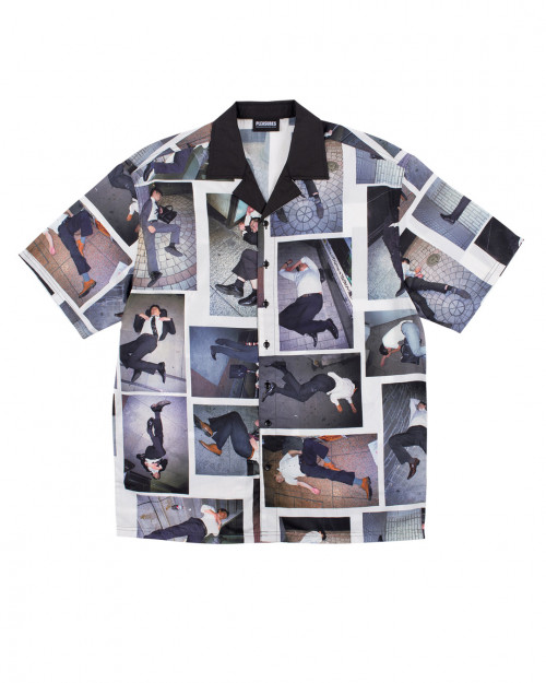 Pleasures HIGH FASHION BUTTON DOWN SHIRT P20F032