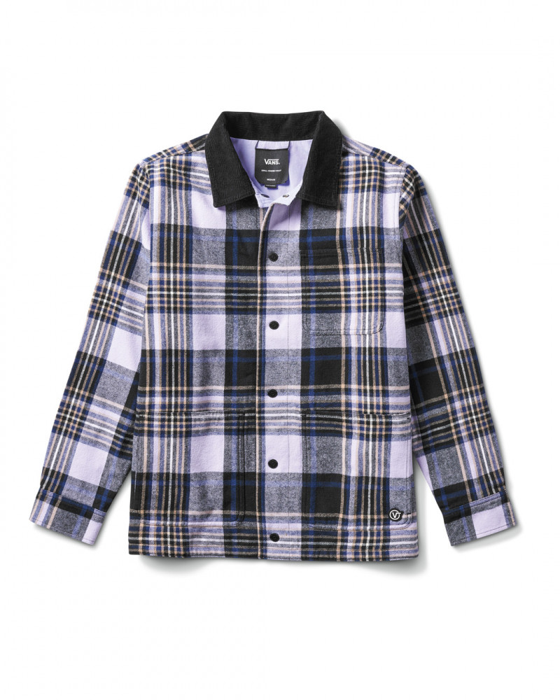 Vans REVERSIBLE PLAID JACKET ANDERSON PAAK VN0A5FFT4481