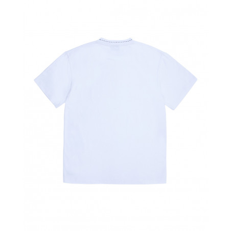 Pleasures CUT HERE HEAVYWEIGHT T-SHIRT P20W006_WH