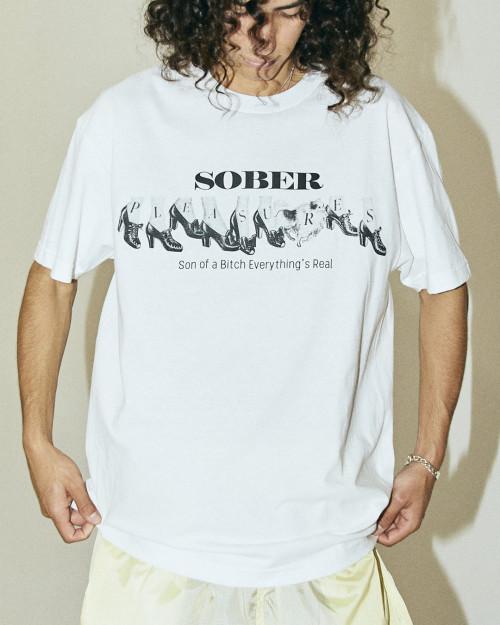 PLEASURES SOBER T-SHIRT P21SU044