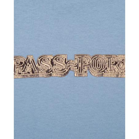 Passport HEAD MAZE TEE HEADMAZEBLUE