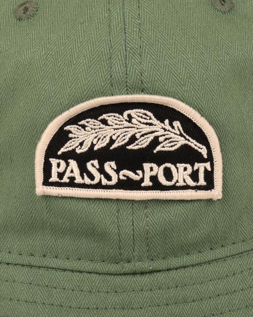Passport QUILL PATCH 6 PANEL BUCKET CAP QUILLBUCKETGREEN
