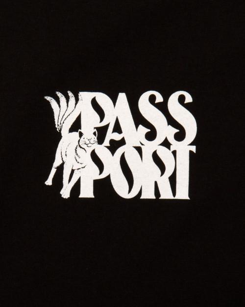 Passport MOGGY TEE MOGGYBLACK