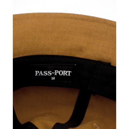 Passport  QUILL PATCH 6 PANEL BUCKET CAP QUILLBUCKETTAN