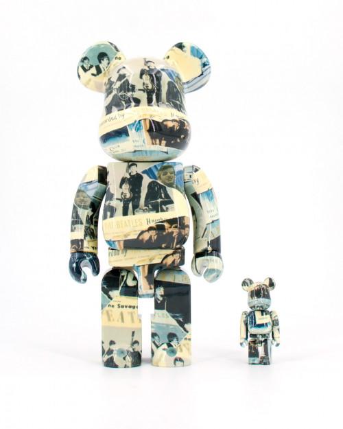 Medicom Toy BEARBRICK THE BEATLES THE ANTHOLOGY 400 100 14BEATLES 1