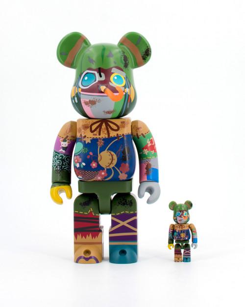Medicom Toy BEARBRICKS POUPELLE 400 100 14POUPELLE