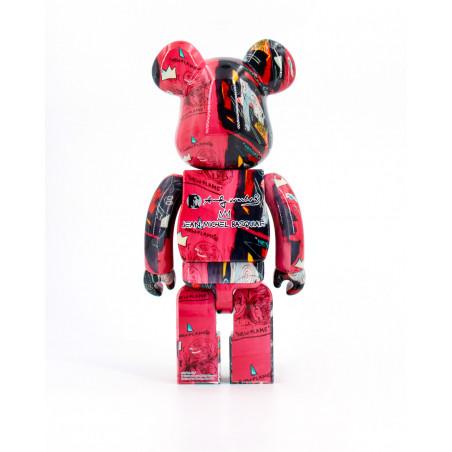 Medicom Toy ANDY WARHOL X JEAN MICHEL BASQUIAT 1000 1000WABA1