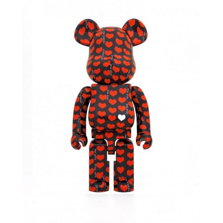 Medicom Toy BEARBRICK BLACK HEART 1000 1000BHEART
