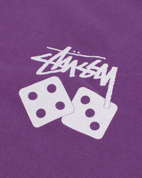 STUSSY DICE PIGMENT DYED TEE 1904721PU