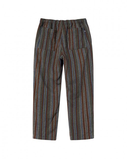 STUSSY WOOL STRIPE RELAXED PANT 116510